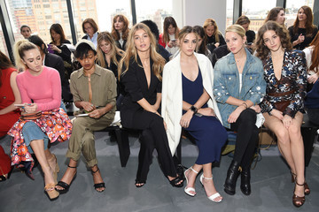 Coco Konig Michael Kors Collection Fall 2017 Runway Show - Front Row
