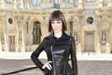Coco Rocha Front Row at Christian Dior