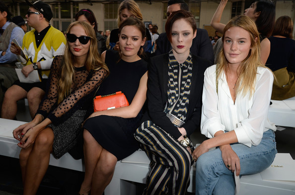 Chloe : Front Row - Paris Fashion Week Womenswear  Spring/Summer 2014