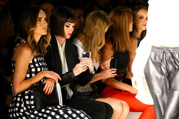 Coco Rocha Louise Roe TRESemme at Marissa Webb - Backstage/Front Row - Mercedes-Benz Fashion Week Spring 2015