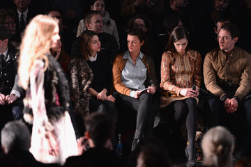 Coco Rocha Anna Sui - Front Row - Mercedes-Benz Fashion Week Fall 2015