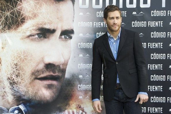 Actor Jake Gyllenhaal attends a photocall for 'Codigo Fuente' ('Source Code') at Santo Mauro Hotel on April 5, 2011 in Madrid, Spain.