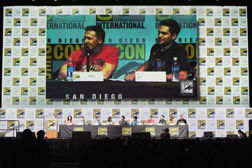 Cody Christian Charlie Carver Comic-Con International 2017 - 'Teen Wolf' Panel