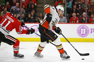 Cody Franson Anaheim Ducks v Chicago Blackhawks