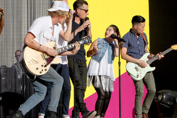 Cody Simpson Coca-Cola, O.A.R., Cody Simpson, Madison Tevlin and Breanna Bogucki at the Special Olympics