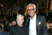 Frank Gehry and Edward Horner attend the Celebrate Colburn Gala honoring  Elizabeth Segerstrom at Colburn School on October 23, 2018 in Los Angeles, California.