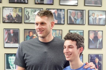 Cole Aldrich 2018 Big Game Weekend Hearing Mission With Starkey Hearing Technologies
