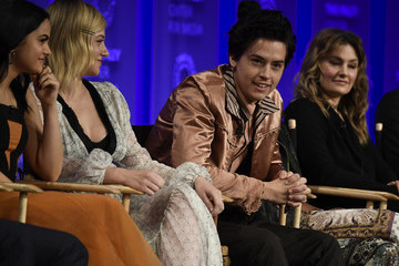Cole Sprouse Camila Mendes The Paley Center For Media's 35th Annual PaleyFest Los Angeles - 'Riverdale' - Inside