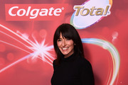 Davina McCall attends the Colgate Total Whole Mouth Health Event at Tate Modern on February 21, 2019 in London, England.