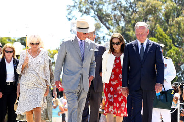 Colin Barnett The Prince of Wales & Duchess of Cornwall Visit Australia - Day 6