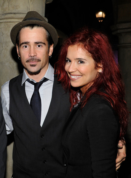 Colin Farrell and Claudine Farrell - Reca Group At The 2011 amfAR Inspiration Gala