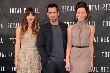 """Colin Farrell Kate Beckinsale Photo Call For Columbia Pictures' """"Total Recall"""""""