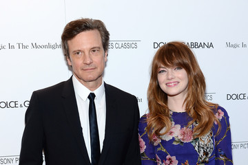 Colin Firth 'Magic in the Moonlight' Premieres in NYC