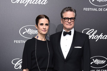 Colin Firth Official Trophee Chopard Dinner - Photocall - The 72nd Cannes International Film Festival