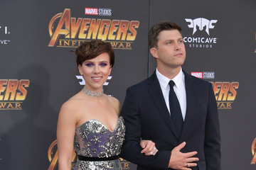 Colin Jost Premiere Of Disney And Marvel's 'Avengers: Infinity War' - Arrivals