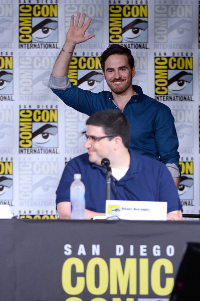 Comic-Con International 2016 - 'Once Upon A Time' Panel [once upon a time,world,fiction,colin odonoghue,adam horowitz,writer,san diego convention center,california,panel,panel,comic-con international,comic-con international 2016]