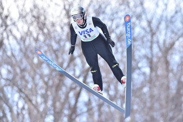 Coline Mattel FIS Ski Jumping World Cup Ladies Sapporo - Day 1