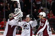 Semyon Varlamov and Nathan MacKinnon Photos Photo
