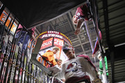 Semyon Varlamov #1 of the Colorado Avalanche leaves the ice following warm-ups prior to the game against the Philadelphia Flyers  at the Wells Fargo Center on October 22, 2018 in Philadelphia, Pennsylvania.