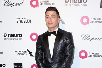 Colton Haynes Arrivals at the Elton John AIDS Foundation Oscars Viewing Party — Part 4