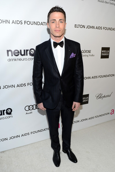 Colton Haynes 21st Annual Elton John Aids Foundation