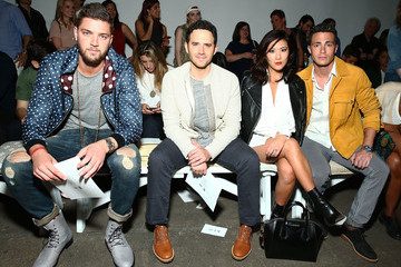 Colton Haynes The Front Row of Billy Reid at New York Fashion Week
