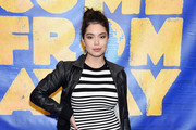 """Auli'i Cravalho arrives at the """"Come From Away"""" Opening Night Performance at Ahmanson Theatre on November 28, 2018 in Los Angeles, California."""