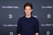 Nick Adams attends Comedy Central's 'The Other Two' series premiere party at Dream Hotel Downtown on January 17, 2019 in New York City.