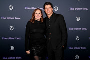 Molly Shannon and Ken Marino attend Comedy Central's 'The Other Two' series premiere party at Dream Hotel Downtown on January 17, 2019 in New York City.