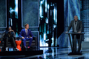 (L-R) Snoop Dogg, Justin Bieber and Hannibal Buress onstage at The Comedy Central Roast of Justin Bieber at Sony Pictures Studios on March 14, 2015 in Los Angeles, California. The Comedy Central Roast of Justin Bieber will air on March 30, 2015 at 10:00 p.m. ET/PT.