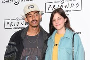 Jordan Stephens and Amber Anderson attend a photocall for Comedy Central UK's 'FriendsFest' at Kennington Park on September 20, 2018 in London, England.