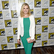 Eliza Taylor Looked Gorgeous in Green