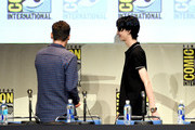 "Director Bryan Singer (L) and actor Kodi Smit-McPhee from ""X-Men: Apocalypse"" appear onstage at the 20th Century FOX panel during Comic-Con International 2015 at the San Diego Convention Center on July 11, 2015 in San Diego, California."