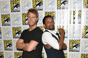 Hill Harper and Jake McDorman Photos Photo