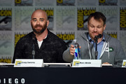 "Writer Craig Sweeny (L) and director Marc Webb speak onstage at the CBS TV Studios' panel for ""Limitless"" during Comic-Con International 2015 at the San Diego Convention Center on July 9, 2015 in San Diego, California."