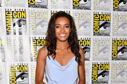 "Actress Ciara Renée at DC's ""Legends Of Tomorrow"" Press Line duirng Comic-Con International 2017 at Hilton Bayfront on July 22, 2017 in San Diego, California."