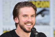 """Actor Dan Stevens  speaks onstage at the """"Legion"""" screening and Q+A during Comic-Con International 2017 at San Diego Convention Center on July 20, 2017 in San Diego, California."""