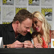 Ian Ziering and Tara Reid
