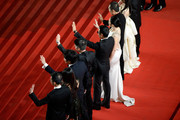 "Cast & Crew attend the ""Gui Lai"" premiere during the 67th Annual Cannes Film Festival on May 20, 2014 in Cannes, France."