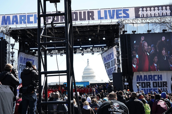 Hundreds Of Thousands Attend March For Our Lives In Washington DC