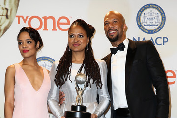Common Ava DuVernay 46th NAACP Image Awards Presented By TV One - Press Room