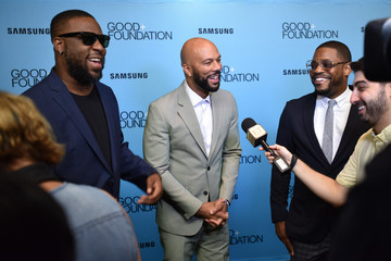 Common 2018 GOOD+ Foundation 'An Evening of Comedy + Music' Benefit Presented By Samsung Electronics America - Arrivals & Cocktail Reception