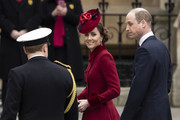 Catherine, Duchess of Cambridge attends the Commonwealth Day Service 2020 at Westminster Abbey on March 09, 2020 in London, England. The Commonwealth represents 2.4 billion people and 54 countries, working in collaboration towards shared economic, environmental, social and democratic goals.
