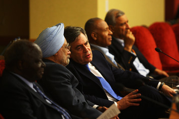 Dr Manmohan Singh Commonwealth Heads Of Government Meeting - Day 2