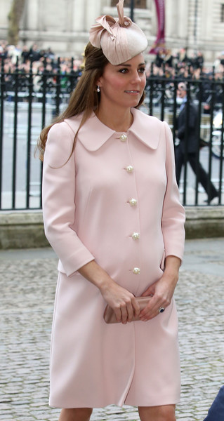 Catherine, Duchess of Cambridge attends the Observance for Commonwealth Day Service At Westminster Abbey on March 9, 2015 in London, England.