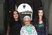 Angela Missoni, Rosita Missoni and Teresa Missoni attend the Conde' Nast International and Place Vendome Qatar Party at Palazzo Corsini on April 22, 2015 in Florence, Italy.