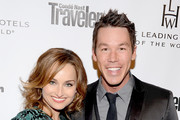 TV personalities Giada De Laurentiis and David Bromstad join Conde Nast Traveler as they celebrate The Leading Hotels Of The World 85th Anniversary at Mr. C Beverly Hills on February 13, 2013 in Beverly Hills, California.