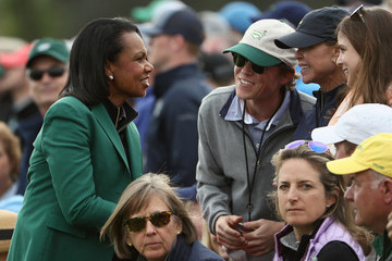 Condoleezza Rice The Masters - Final Round