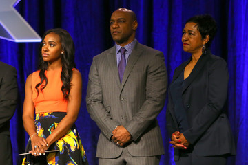 Connie Payton Walter Payton Man of the Year Press Conference