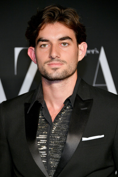 2019 Harper's Bazaar ICONS [hair,facial hair,suit,hairstyle,beard,eyebrow,chin,forehead,white-collar worker,long hair,conor kennedy,icons,harpers bazaar icons,new york city,harpers bazaar]